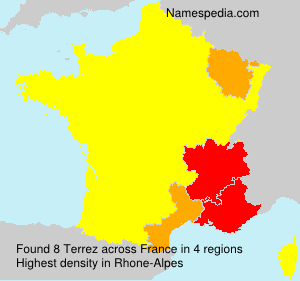 Familiennamen Terrez - France
