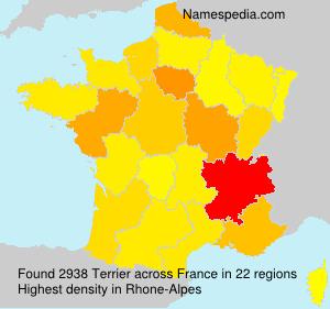 Familiennamen Terrier - France