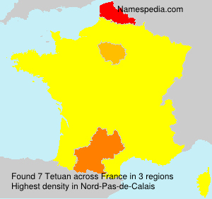 Surname Tetuan in France