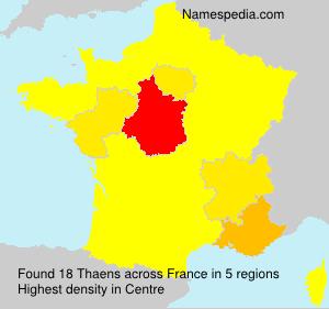 Thaens - France