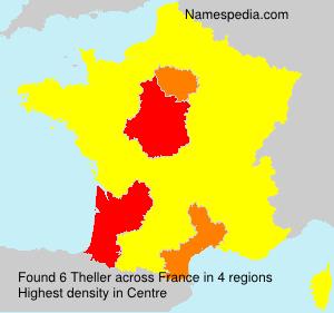 Familiennamen Theller - France