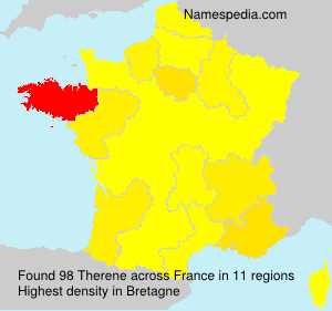 Familiennamen Therene - France