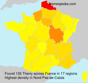 Surname Therry in France