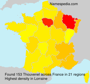 Surname Thouvenel in France