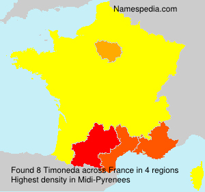 Surname Timoneda in France
