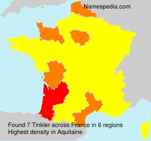 Surname Tinkler in France