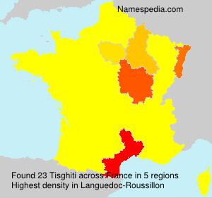 Familiennamen Tisghiti - France