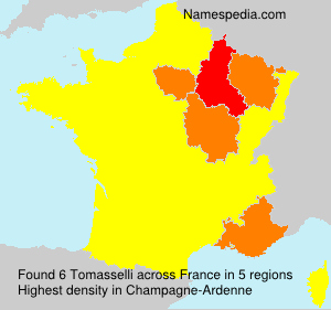 Surname Tomasselli in France