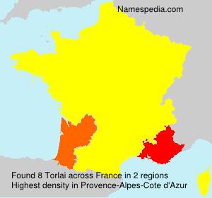 Surname Torlai in France