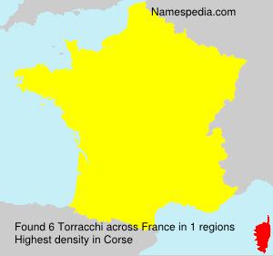 Surname Torracchi in France