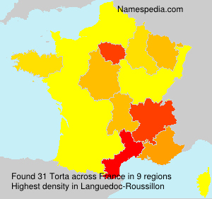 Surname Torta in France