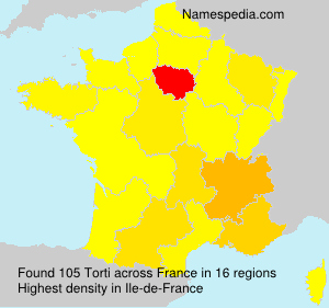 Surname Torti in France