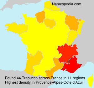 Familiennamen Trabucco - France