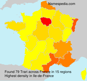 Surname Trari in France