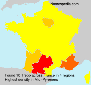 Surname Trepp in France