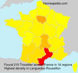 Surname Trocellier in France