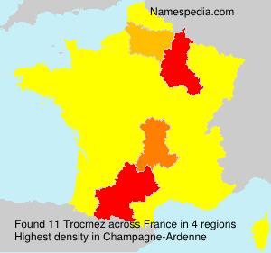 Surname Trocmez in France