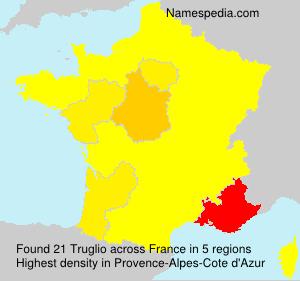 Surname Truglio in France