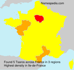 Surname Tsaros in France