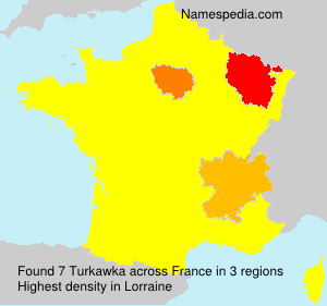 Surname Turkawka in France