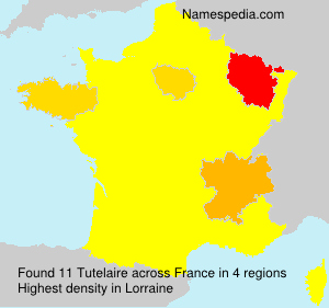 Surname Tutelaire in France