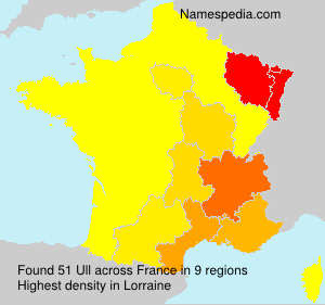 Surname Ull in France