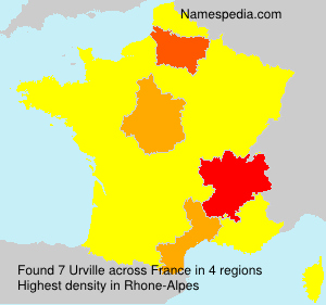 Surname Urville in France