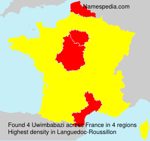 Surname Uwimbabazi in France