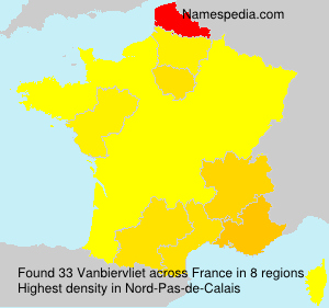 Surname Vanbiervliet in France
