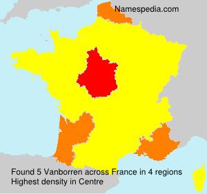 Surname Vanborren in France