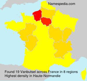 Surname Vanbutsel in France