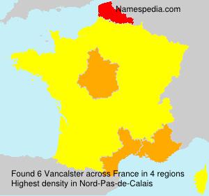 Surname Vancalster in France