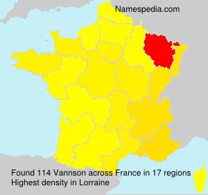 Vannson - France