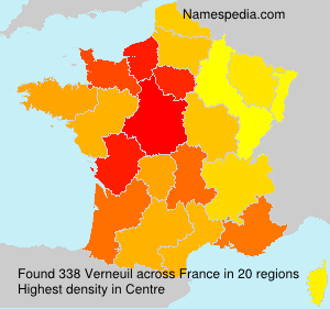 Surname Verneuil in France