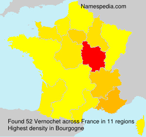Surname Vernochet in France