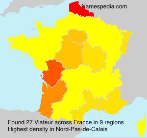 Familiennamen Viateur - France