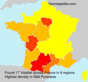 Vidallet