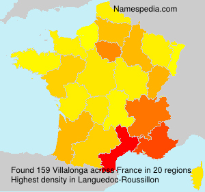 Surname Villalonga in France