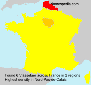 Surname Vlasselaer in France