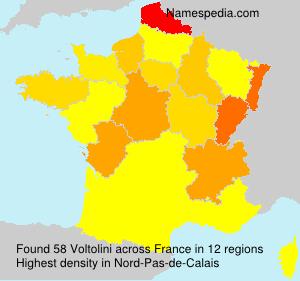 Surname Voltolini in France