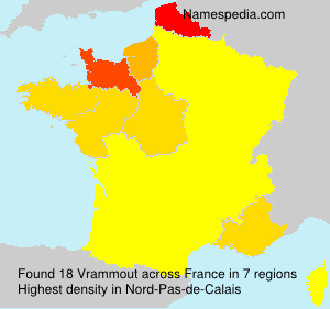 Surname Vrammout in France
