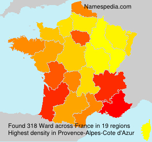 Surname Ward in France