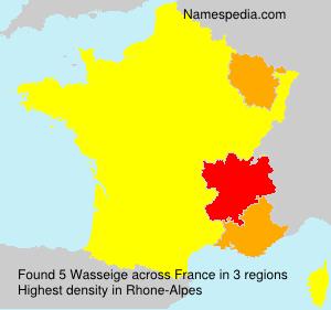 Familiennamen Wasseige - France