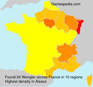Surname Wengler in France