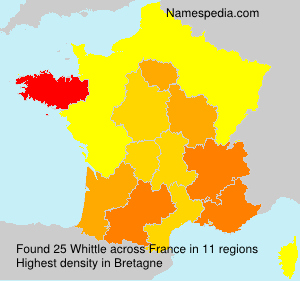 Surname Whittle in France