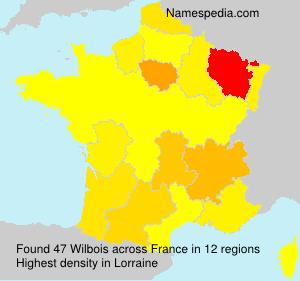 Surname Wilbois in France