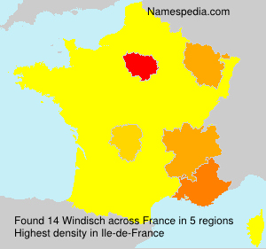 Surname Windisch in France