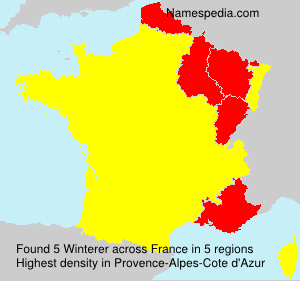 Surname Winterer in France