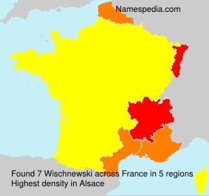Familiennamen Wischnewski - France