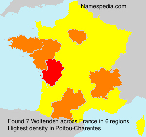 Surname Wolfenden in France